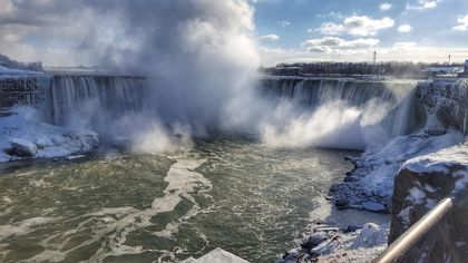 Niagara Falls at winter